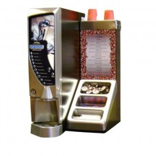Vienna Compact Coffee machine with condiment stand and cabinet