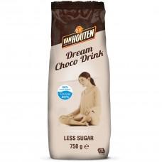 Van Houten Dream Choco Drink (10 x 750g) - 50% Less Sugar